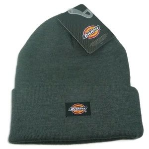 check out c050f 5821d Dickies Dark Grey Core Beanie Hat Gray Warm